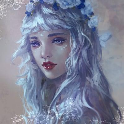 Grace zhu white priestess