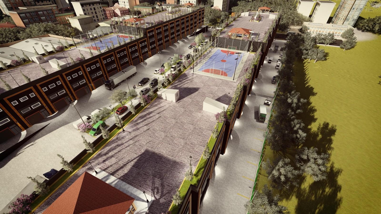 ModSan Industry Area  3D visualization #3dvisualization