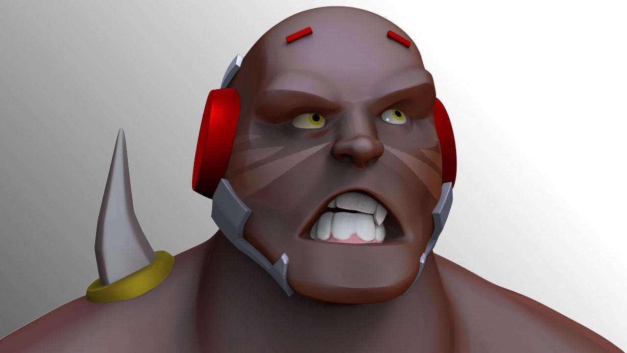 Angry Doomfist zSketch