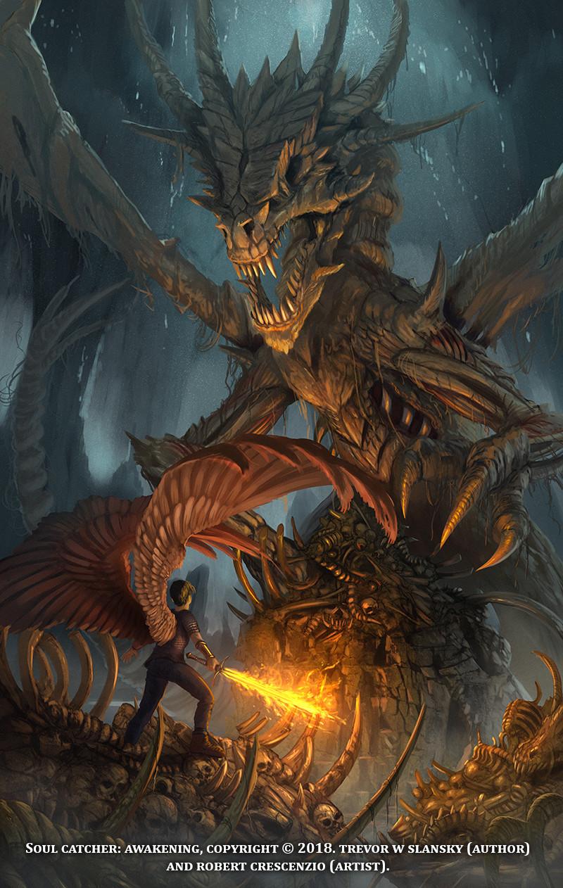 Soul Catcher Awakening Undead Dragon