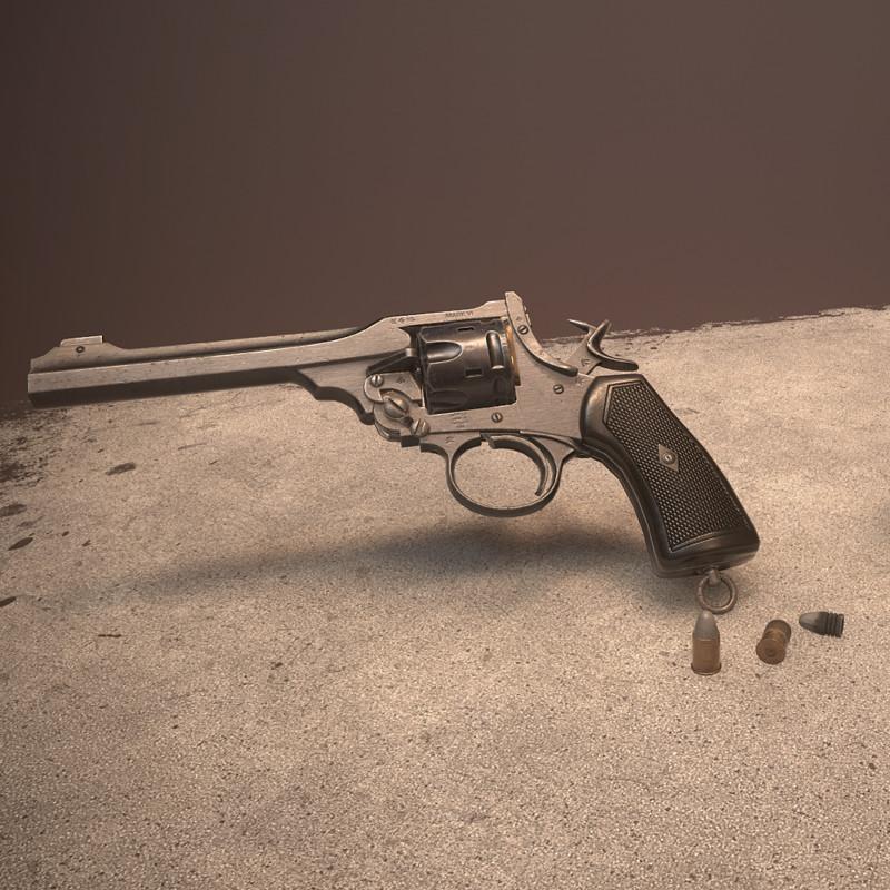 Webley MkVI Revolver