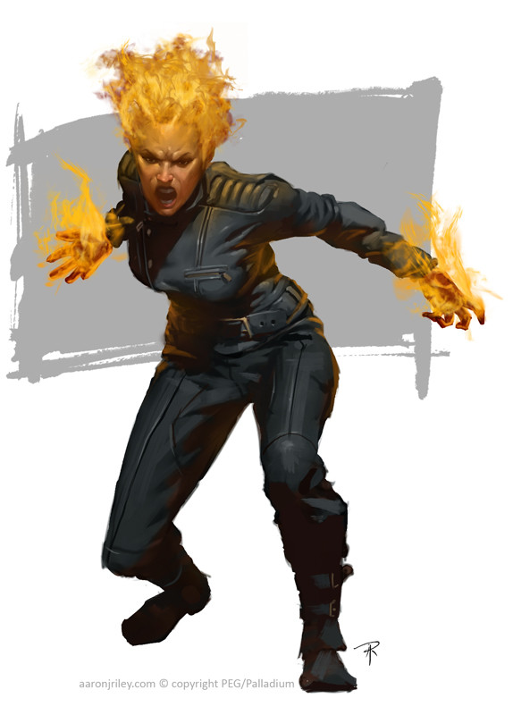 Fire Dancer - Burster