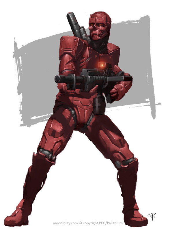 Hagan Combat Cyborg