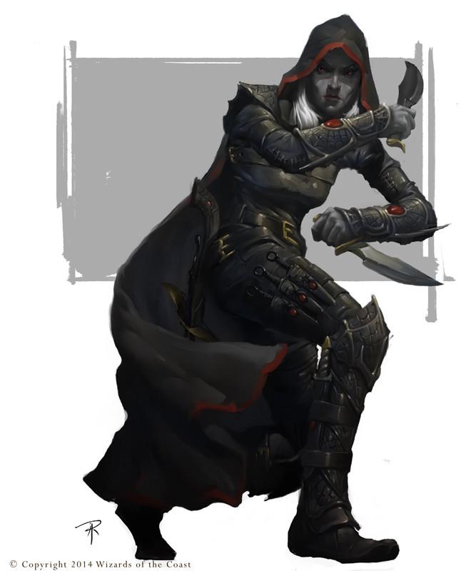 Drow Rogue D&D 5e