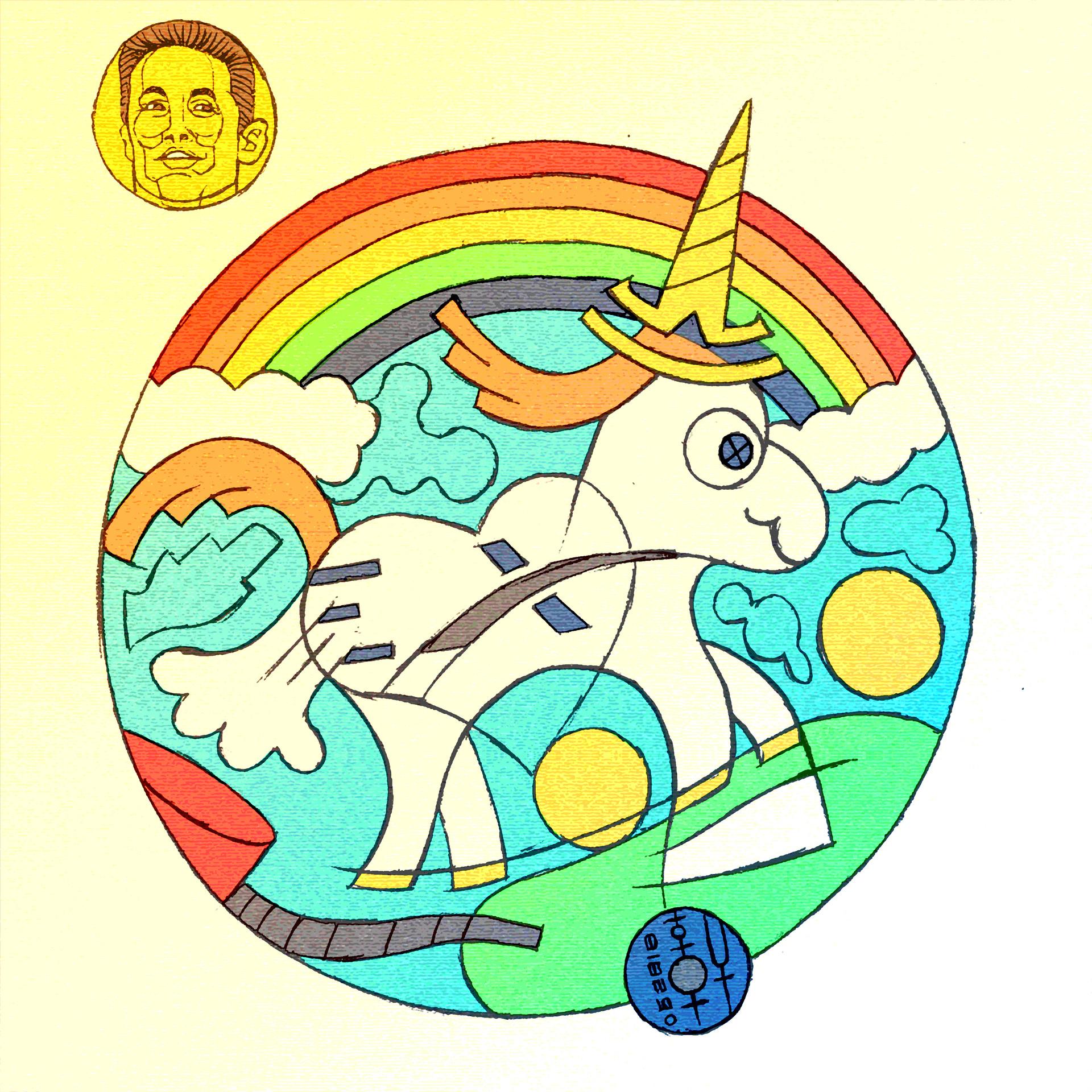 E lynx lin elonmusk unicorn