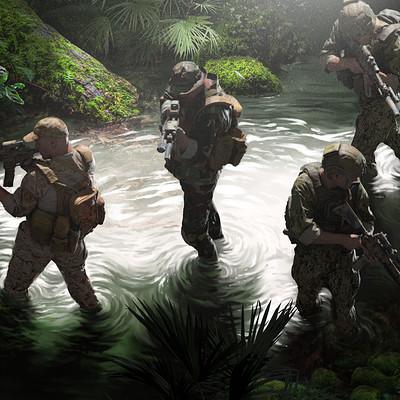 Alfven ato swamp