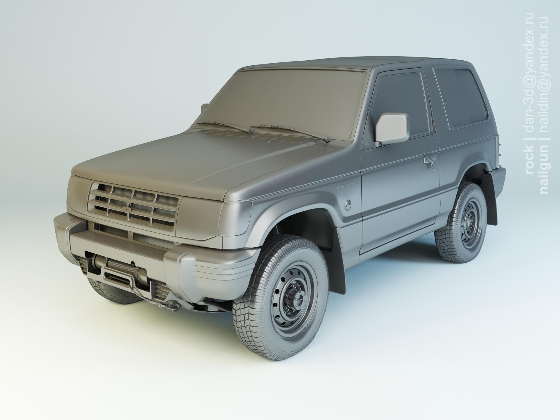 Nail khusnutdinov spwc 004 000 mitsubishi pajero modelling 0