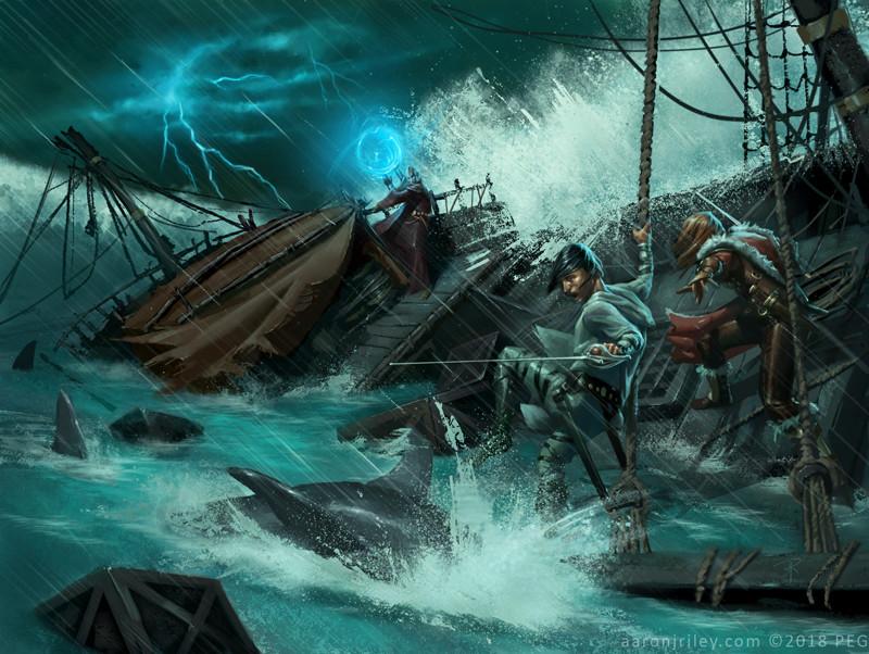 Interior art for Savage Seas of Newhon