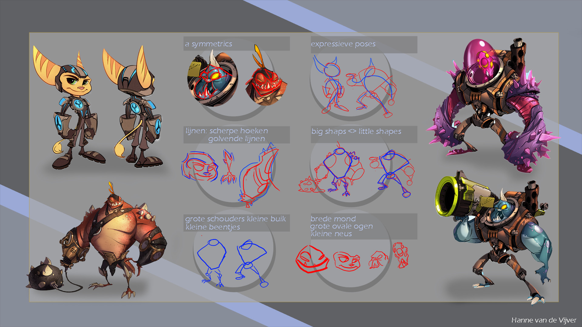 style ref from ratchet and clank