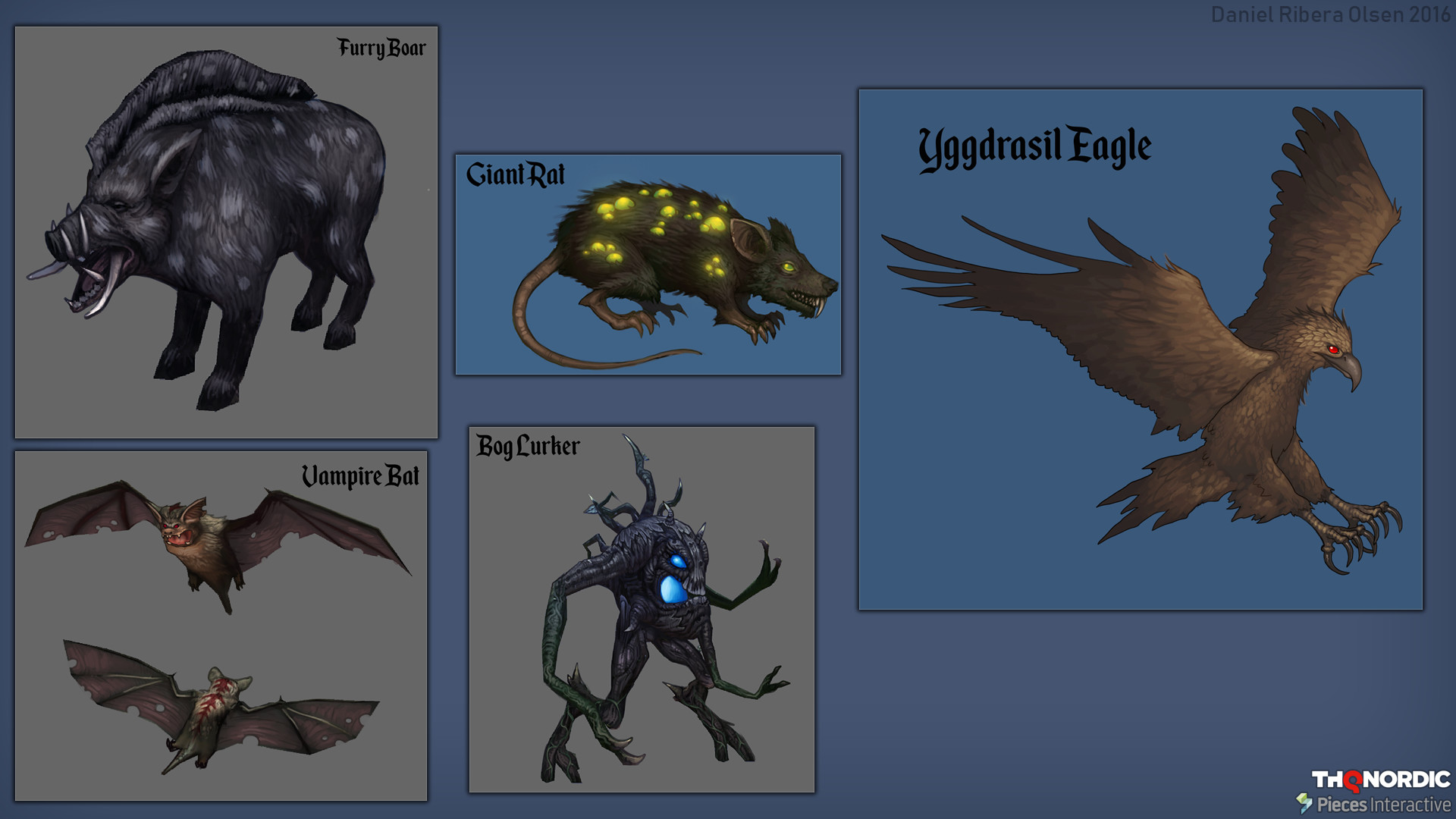 Many enemies were returning in new forms, so these are paintovers of old ingame models