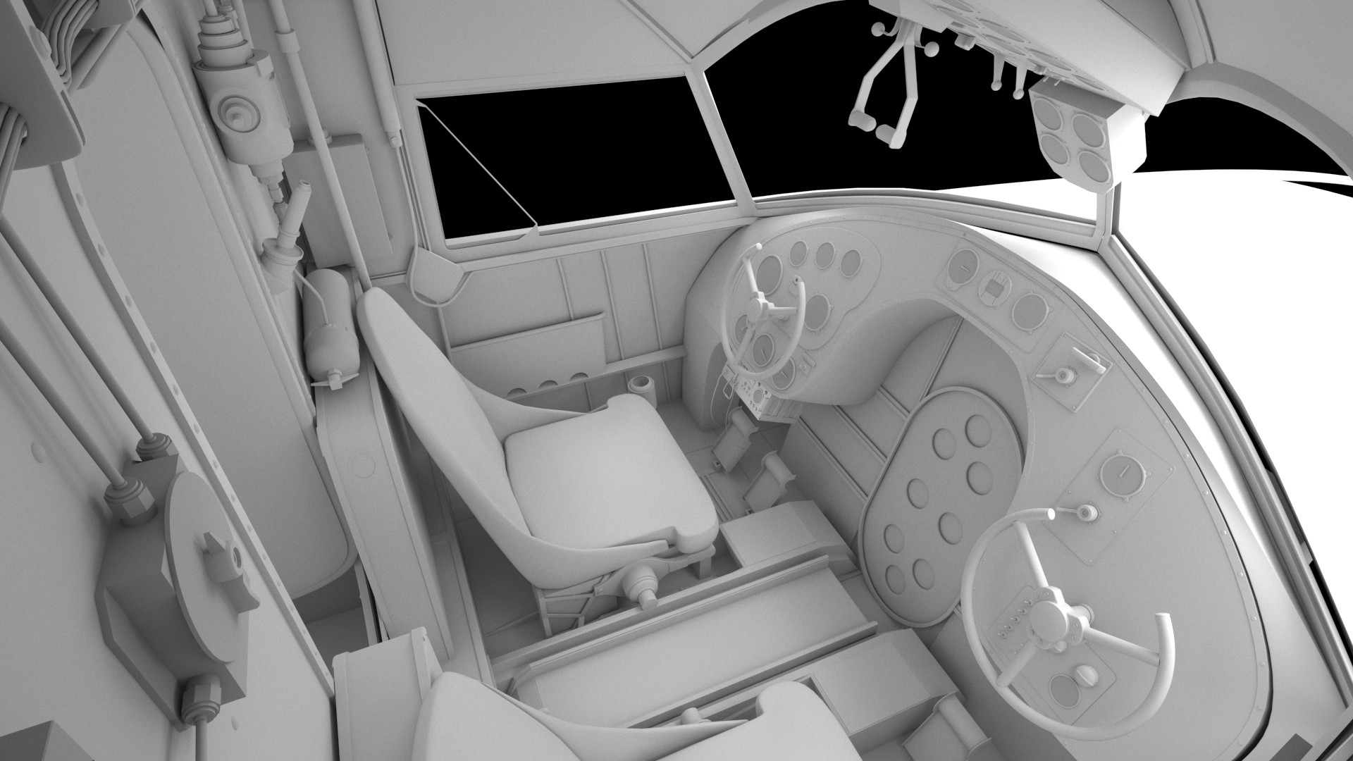 ArtStation - Grumman Goose Interior: ARCHER DANGER ISLAND, Chris