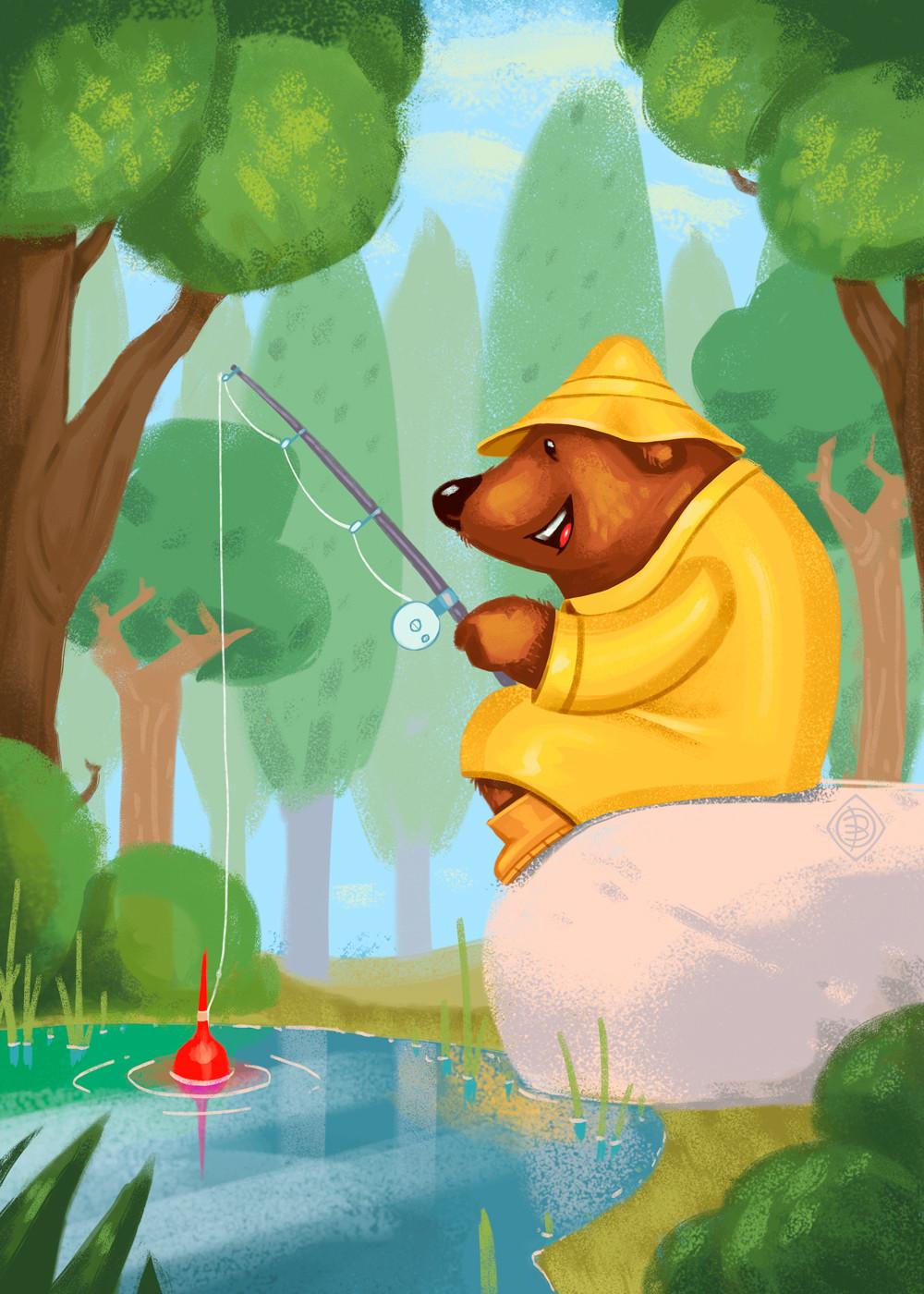 Andrey kamenov bearfishing