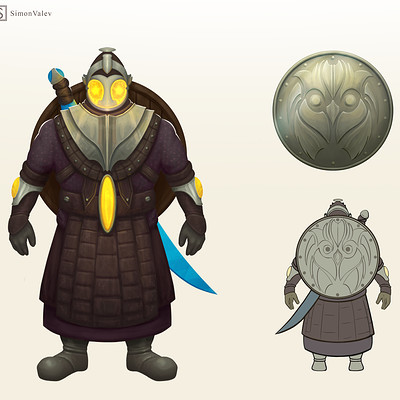 Simon valev character concept
