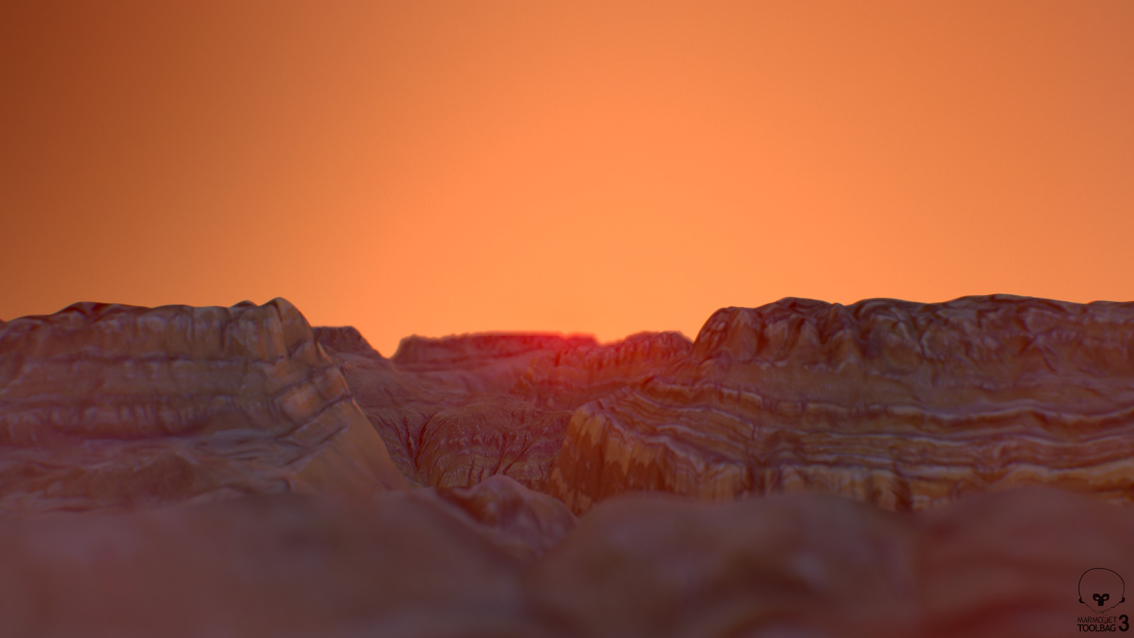 """Dramatic"" shot - Sunset"
