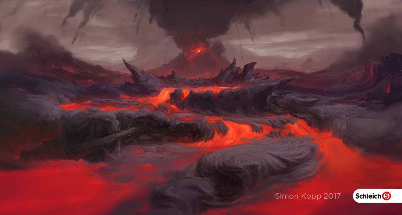 Simon kopp schleich worlds lava