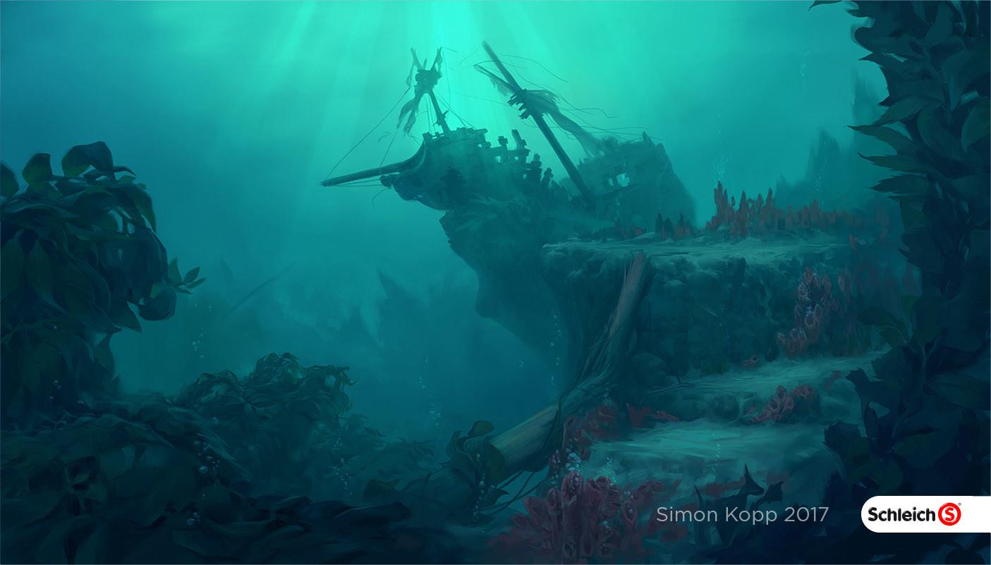 Simon kopp schleich worlds underwater