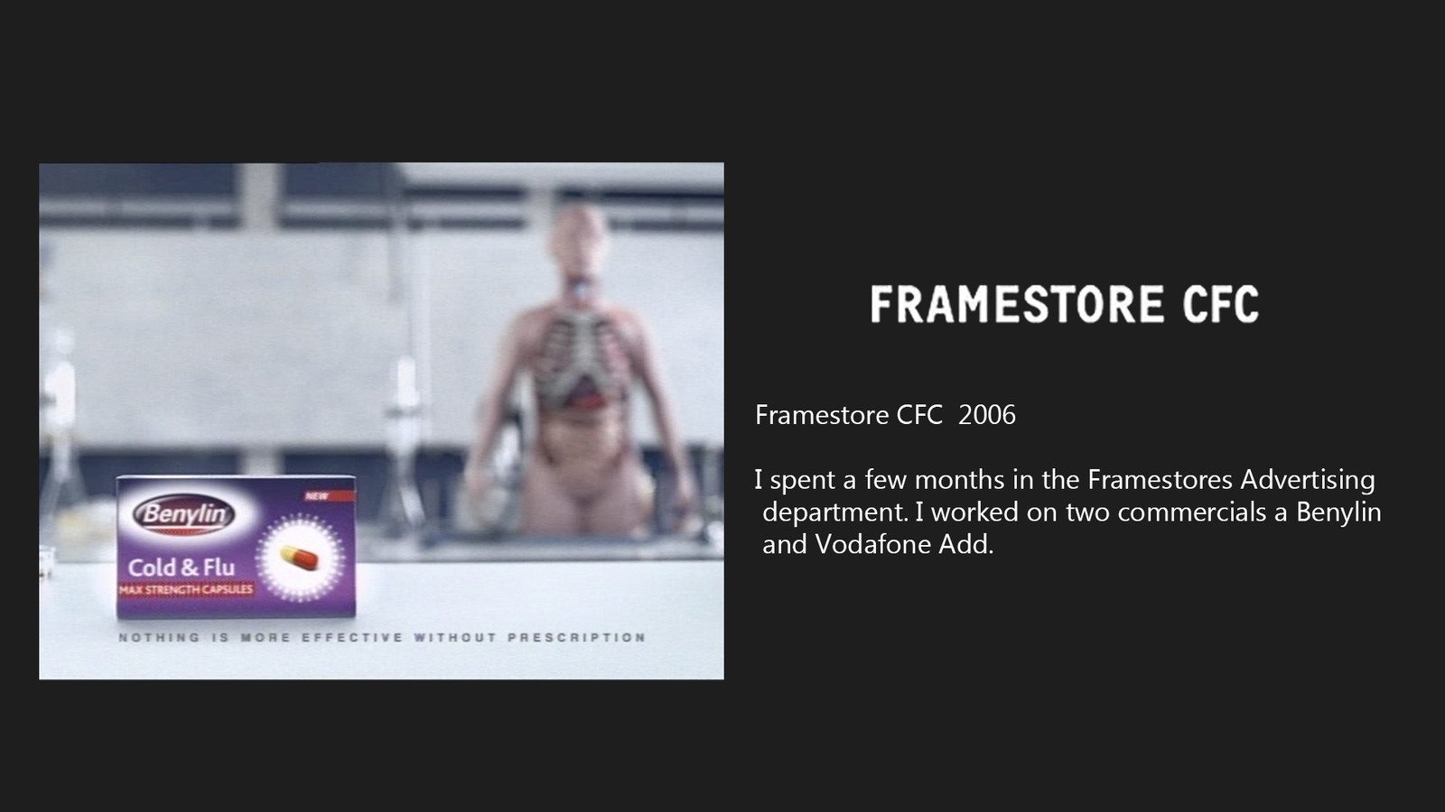 Framestore Commercials