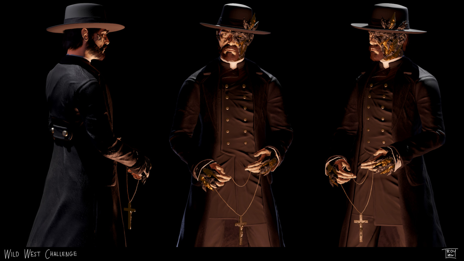 The Priest - Wild West Challenge