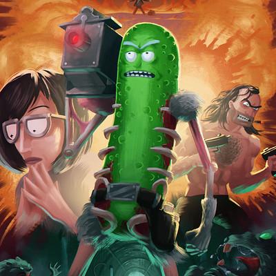 Matt akin pickle rick