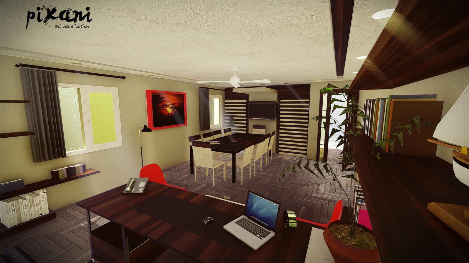 Sariogullari Office Design  #pixanirenders