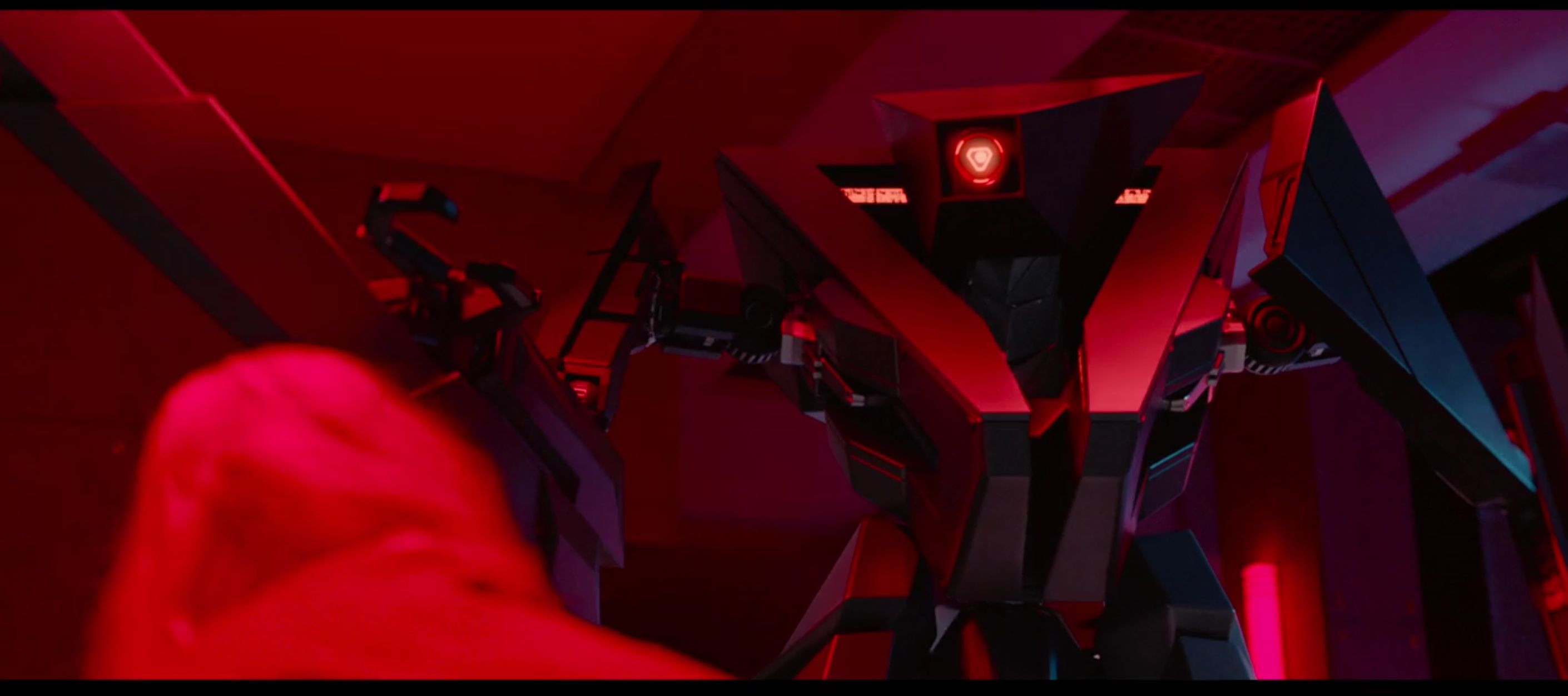 TAU Movie shot of final 3d model made by the vfx team from the project