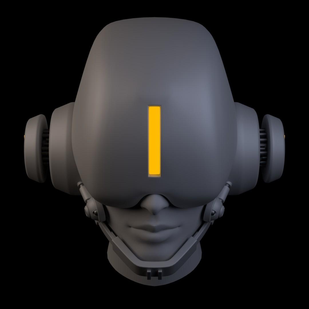 Iain gillespie cyberpunk helmet 04
