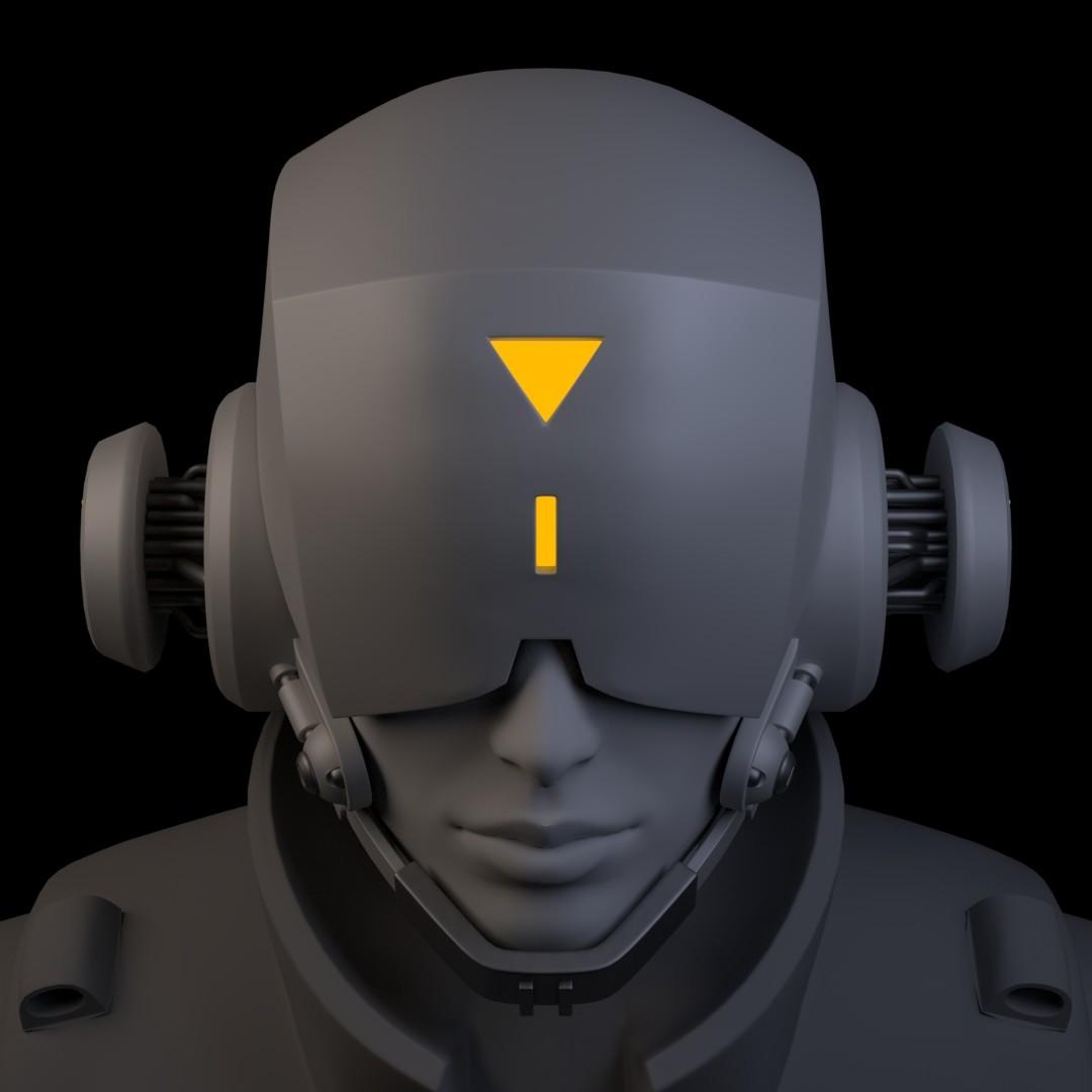 Iain gillespie cyberpunk helmet 05