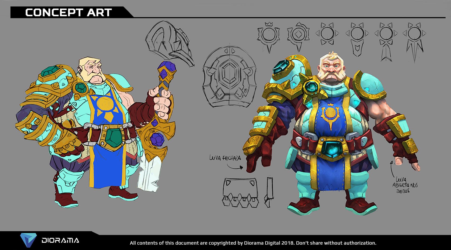 Paladin Knight Concept Art