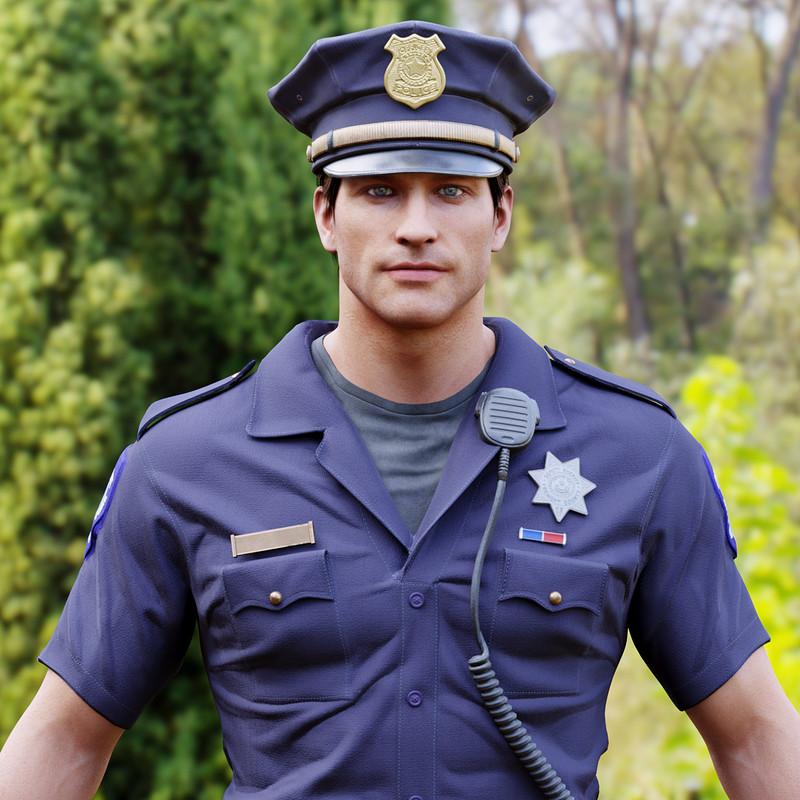Police Officer 3D