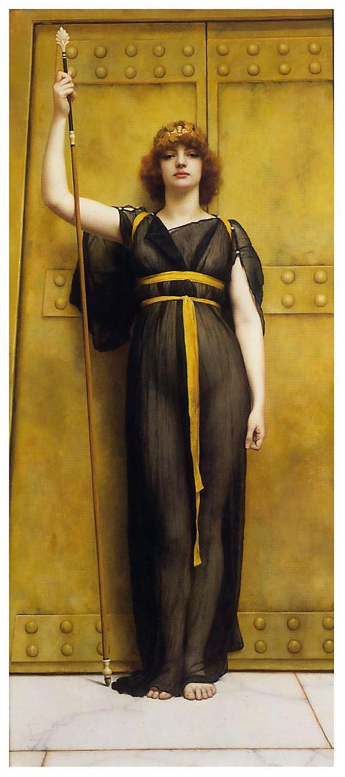 Original from J.W. Godward 1895