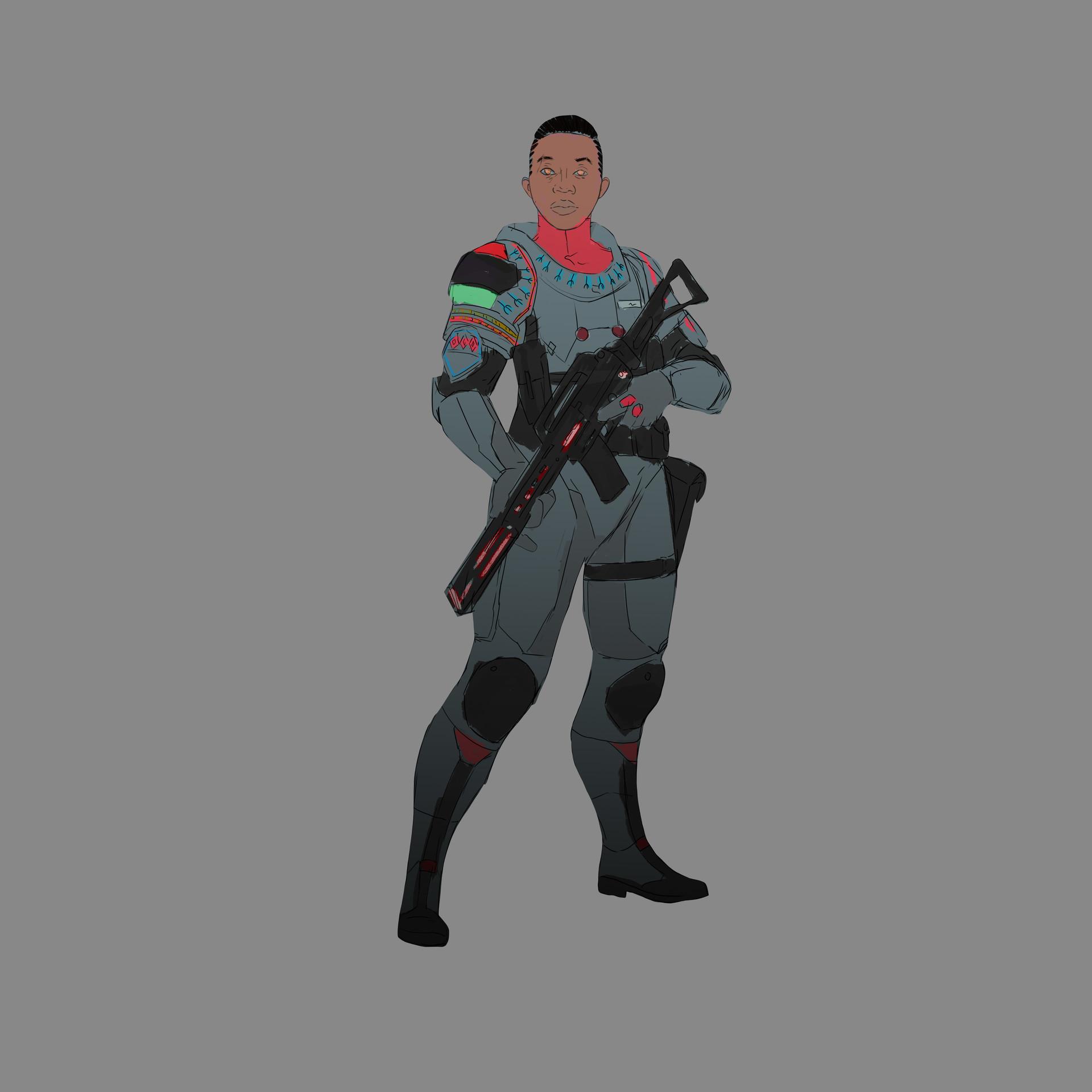Alvaro cardozo soldier colour