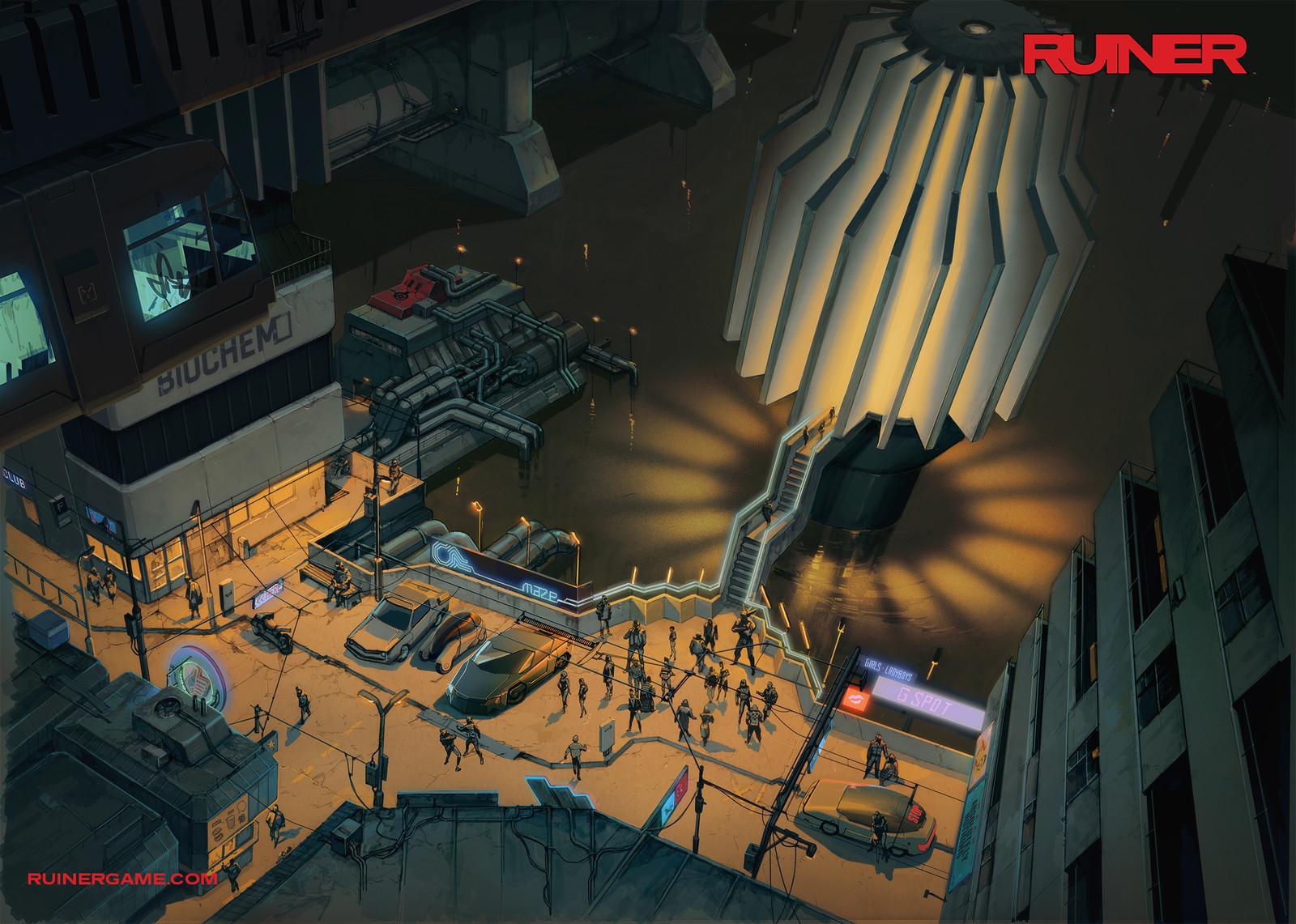 RUINER - City Hub