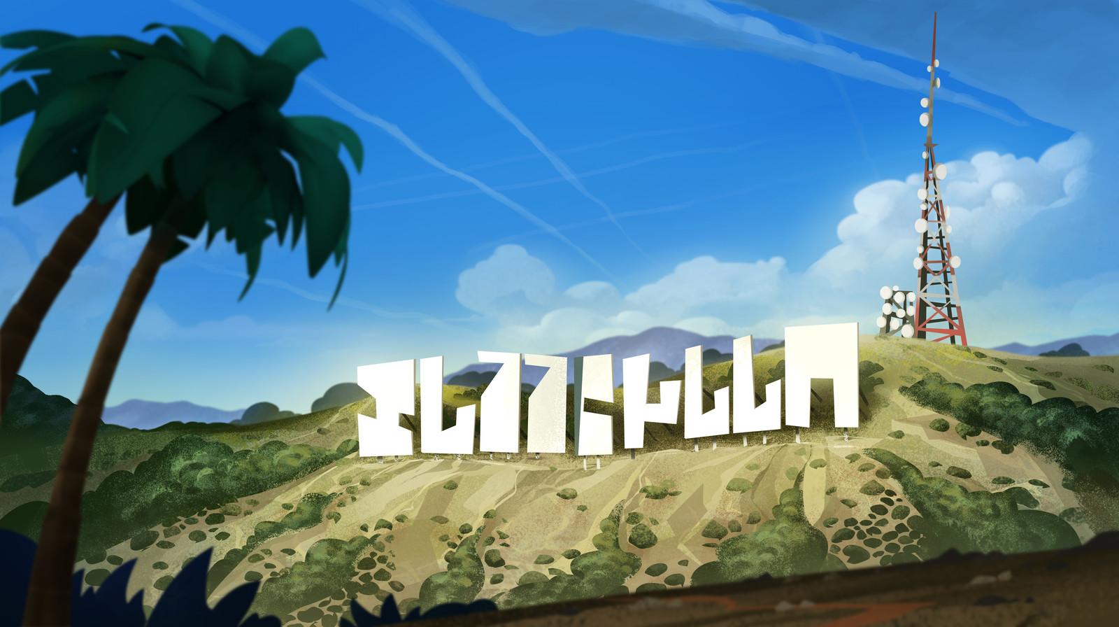 LA Background Painting : Inspector Gadget Season 4