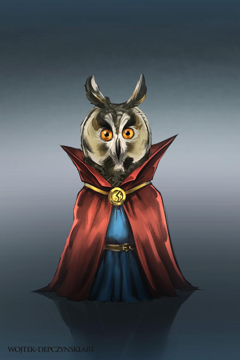 Wojtek depczynski owl2