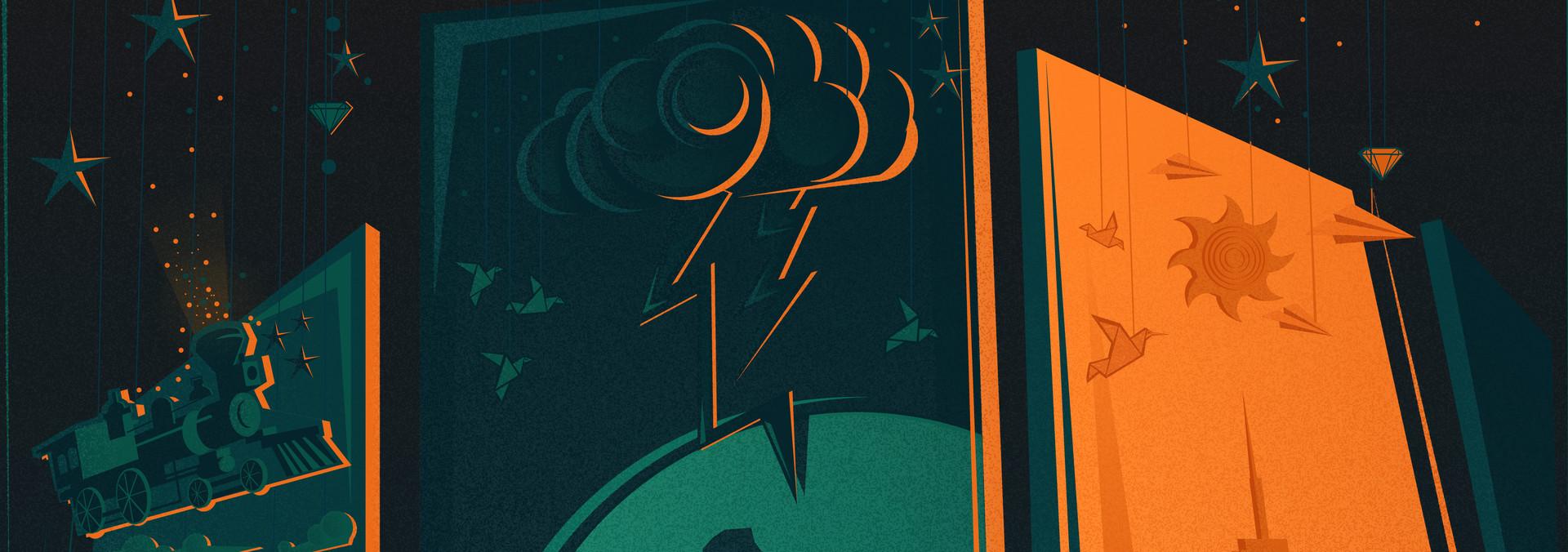 ArtStation - Cinematic Poster, Bertus Dokter