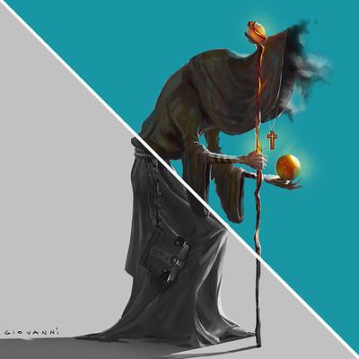 Giovanni calore personaggio monaco oscuro