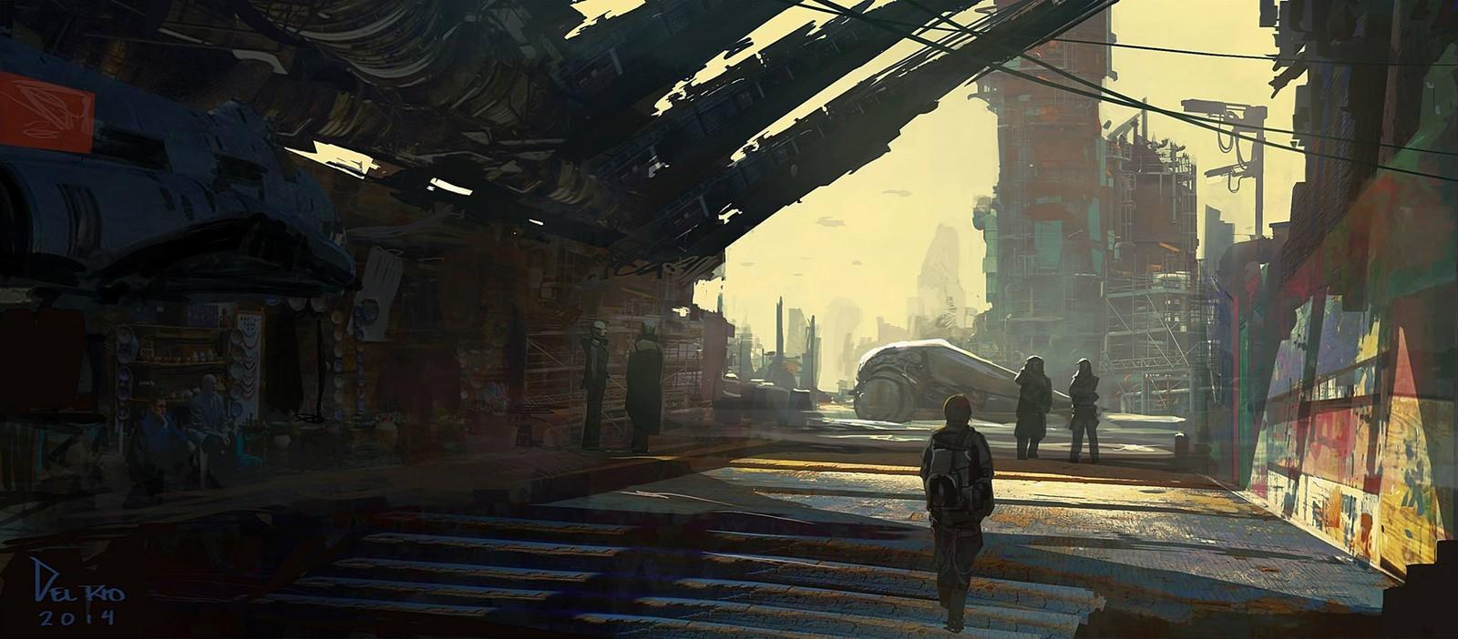 Industrial slumin