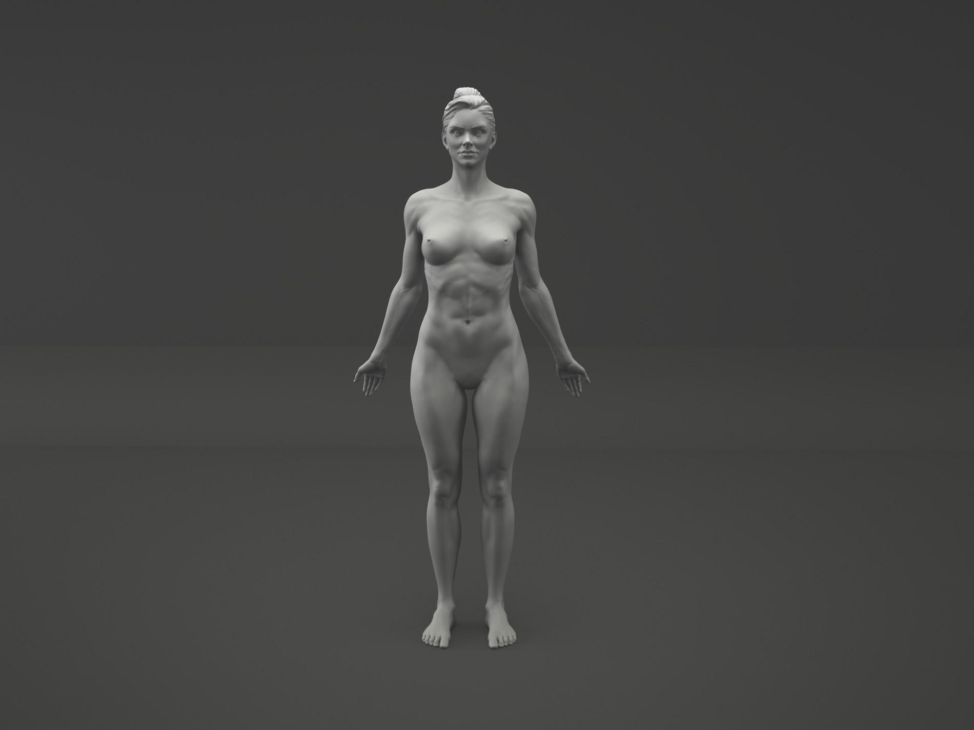 Fabricio rezende comp female skin version front