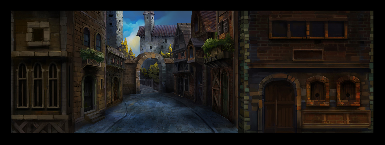 Fantasy Background Project