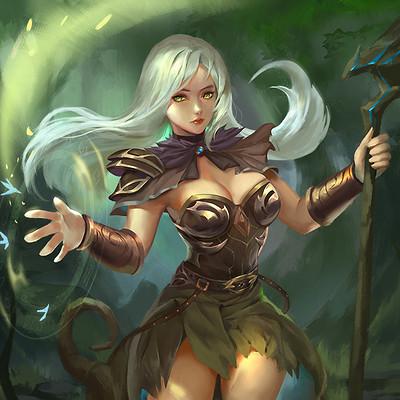 Trung nguyen card elf