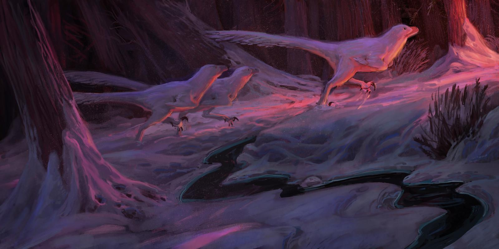 Snow Raptors