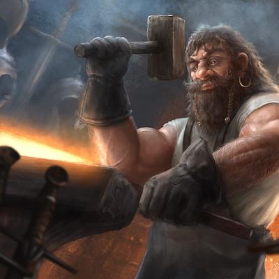 Andy sutton blacksmith v001as