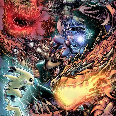 Adam fitts pokemon x monster hunter