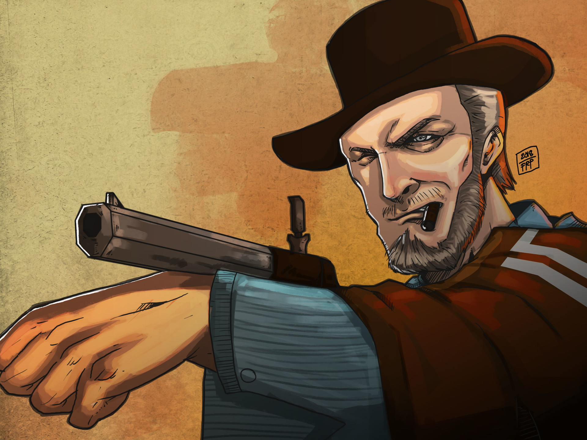 Frank Pedojan The Good The Bad And The Ugly Fan Art