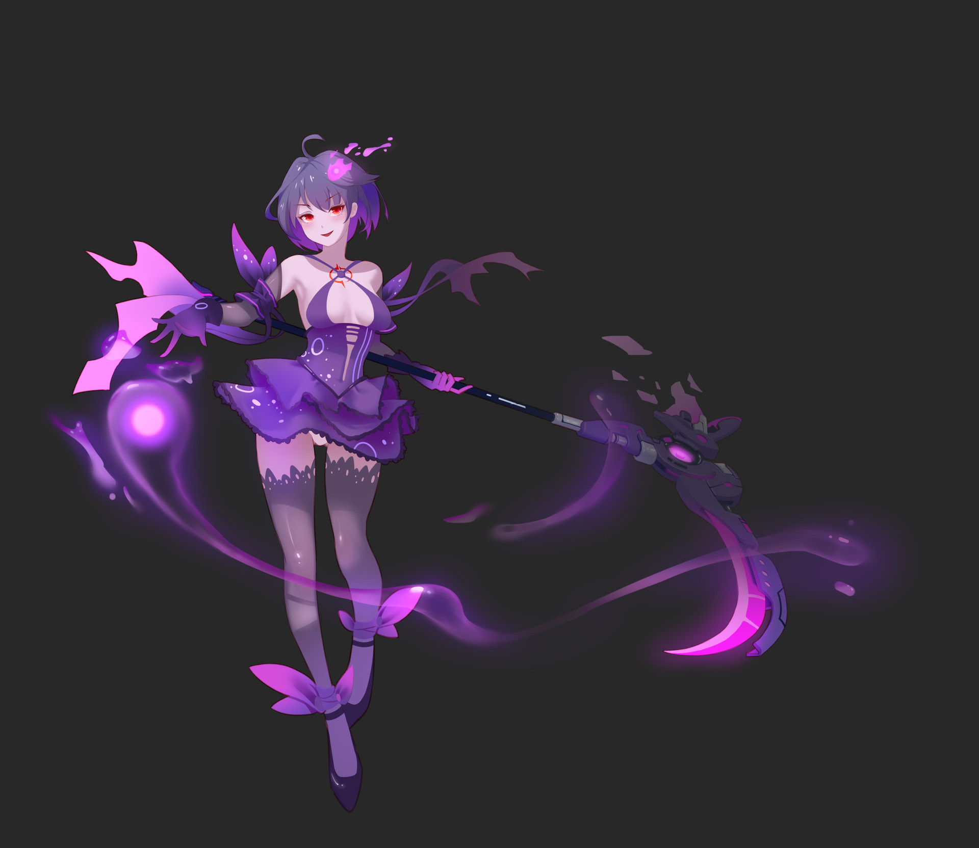 ArtStation - A fans design for Seele from HonKai Impact 3