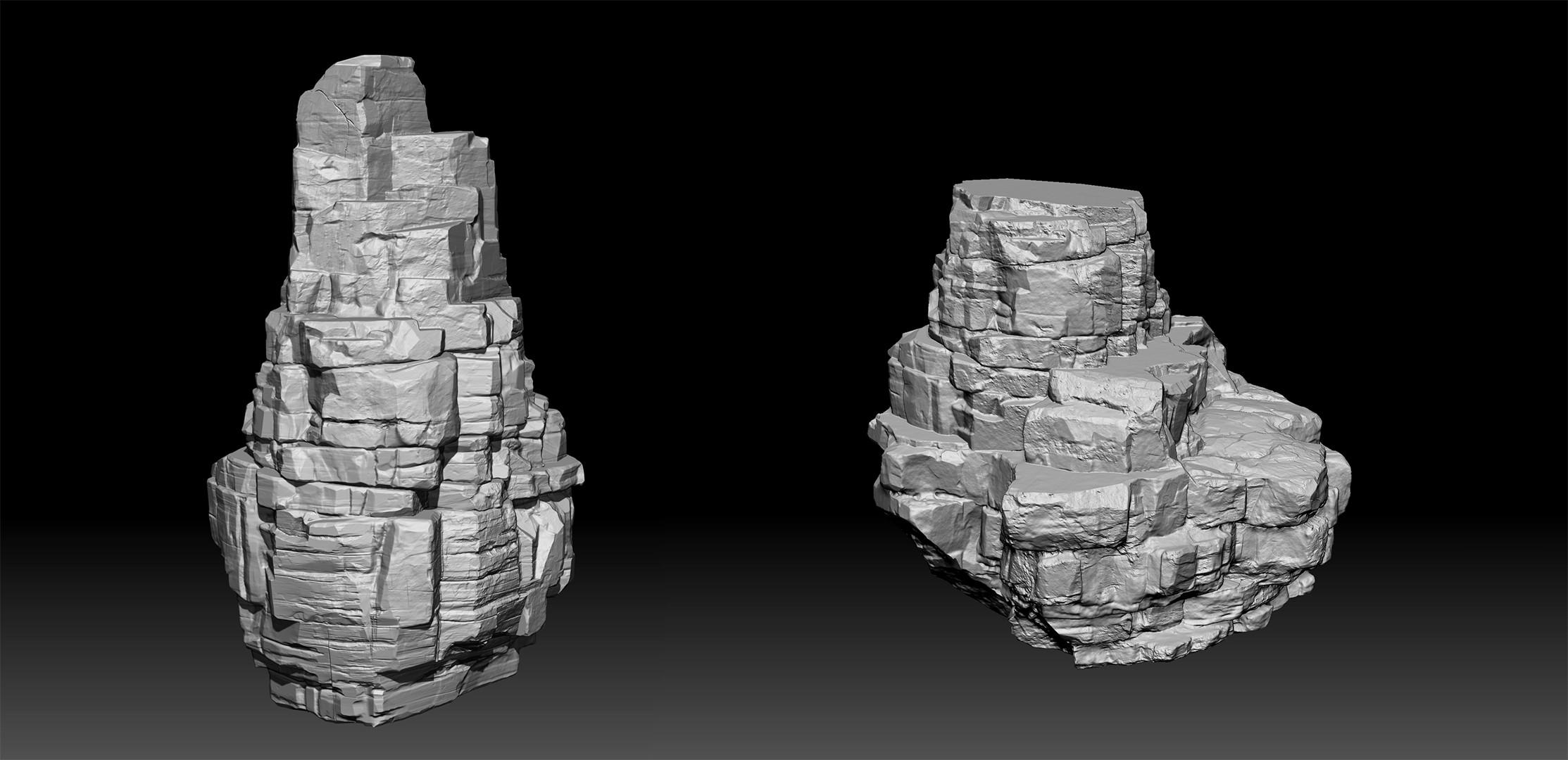 Rock Sculpt.
