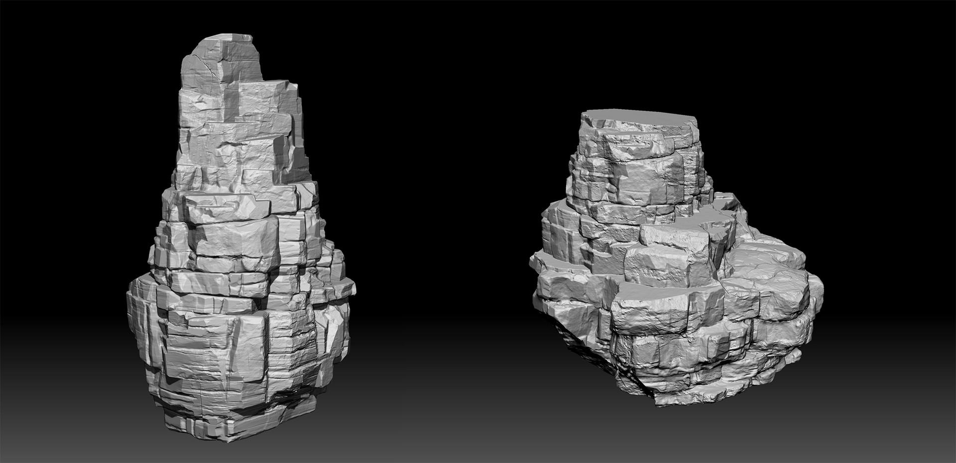 Walid k perrussel rock sculpt 2