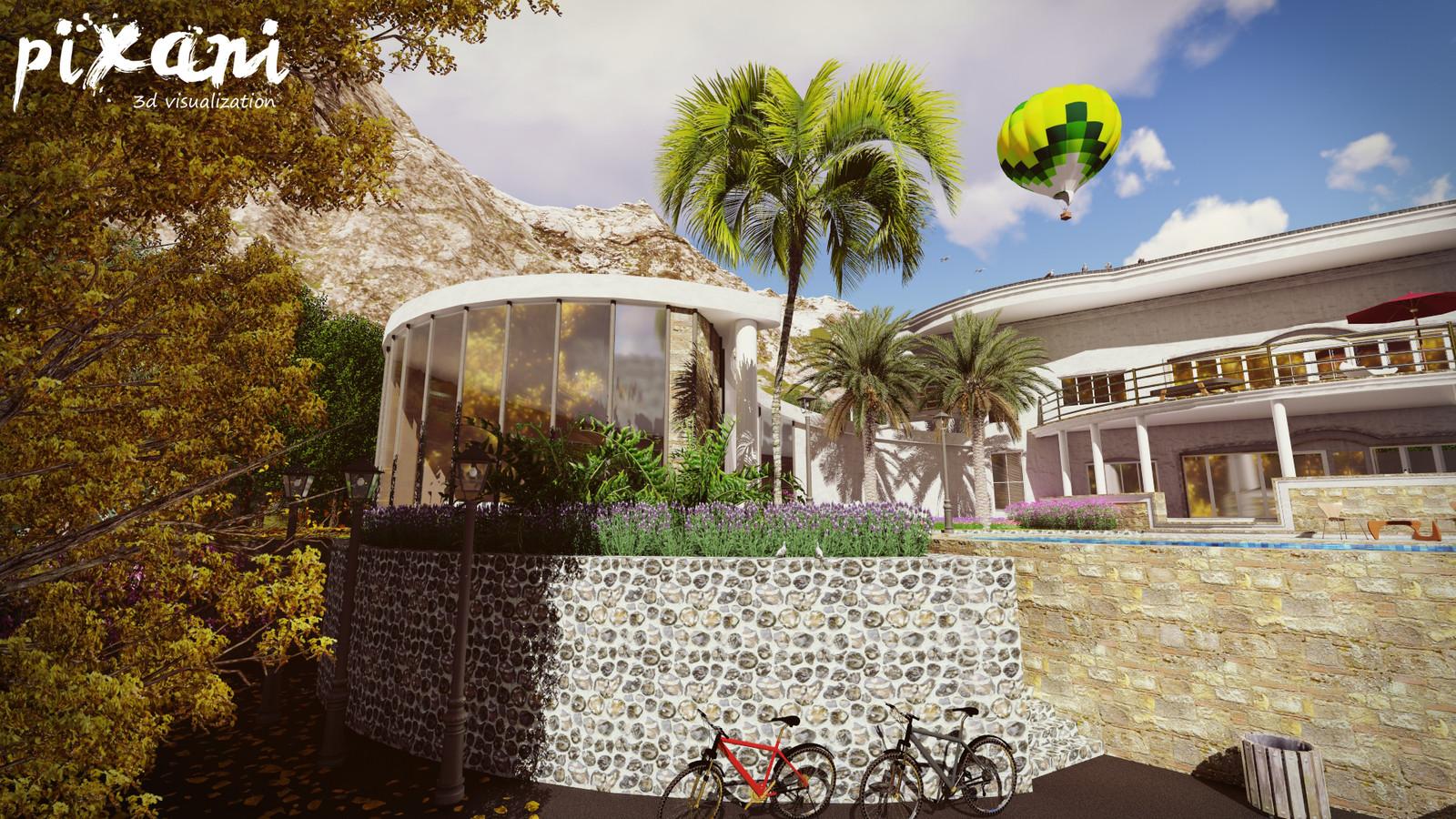 BEAN house  #pixani