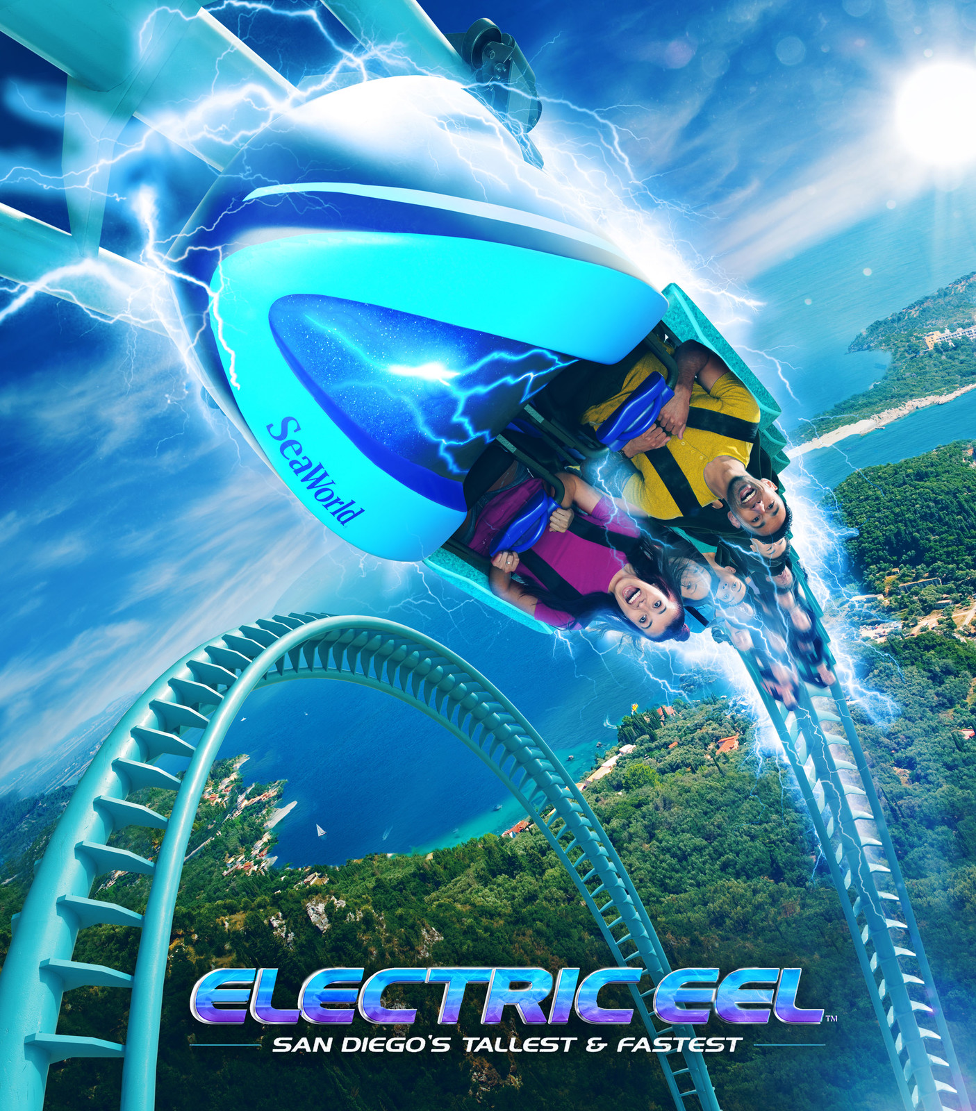 Seaworld: Electric Eel
