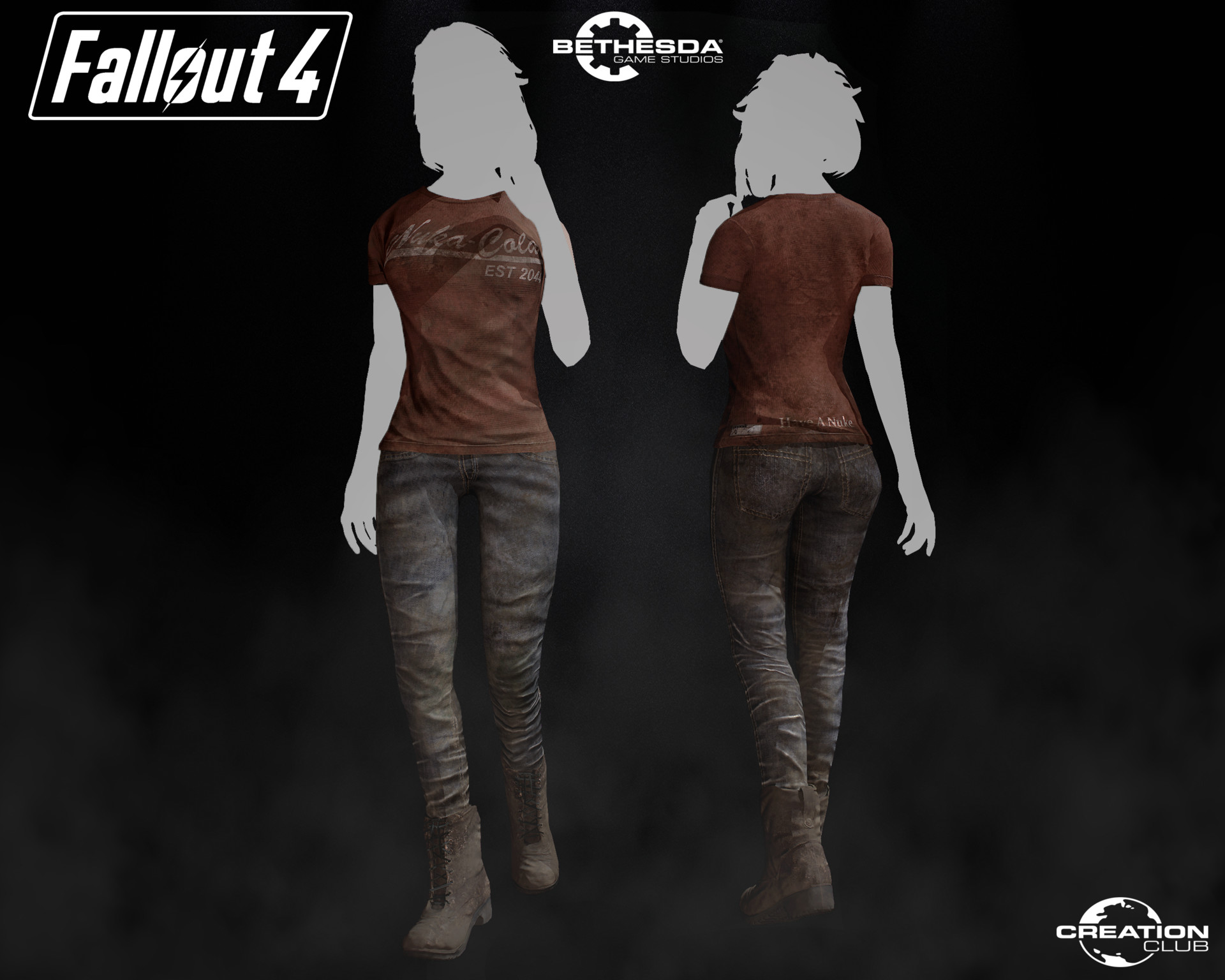 ArtStation - Graphic T-Shirt Pack - Creation Club, Nicky M Else